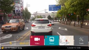 application dashcam voiture